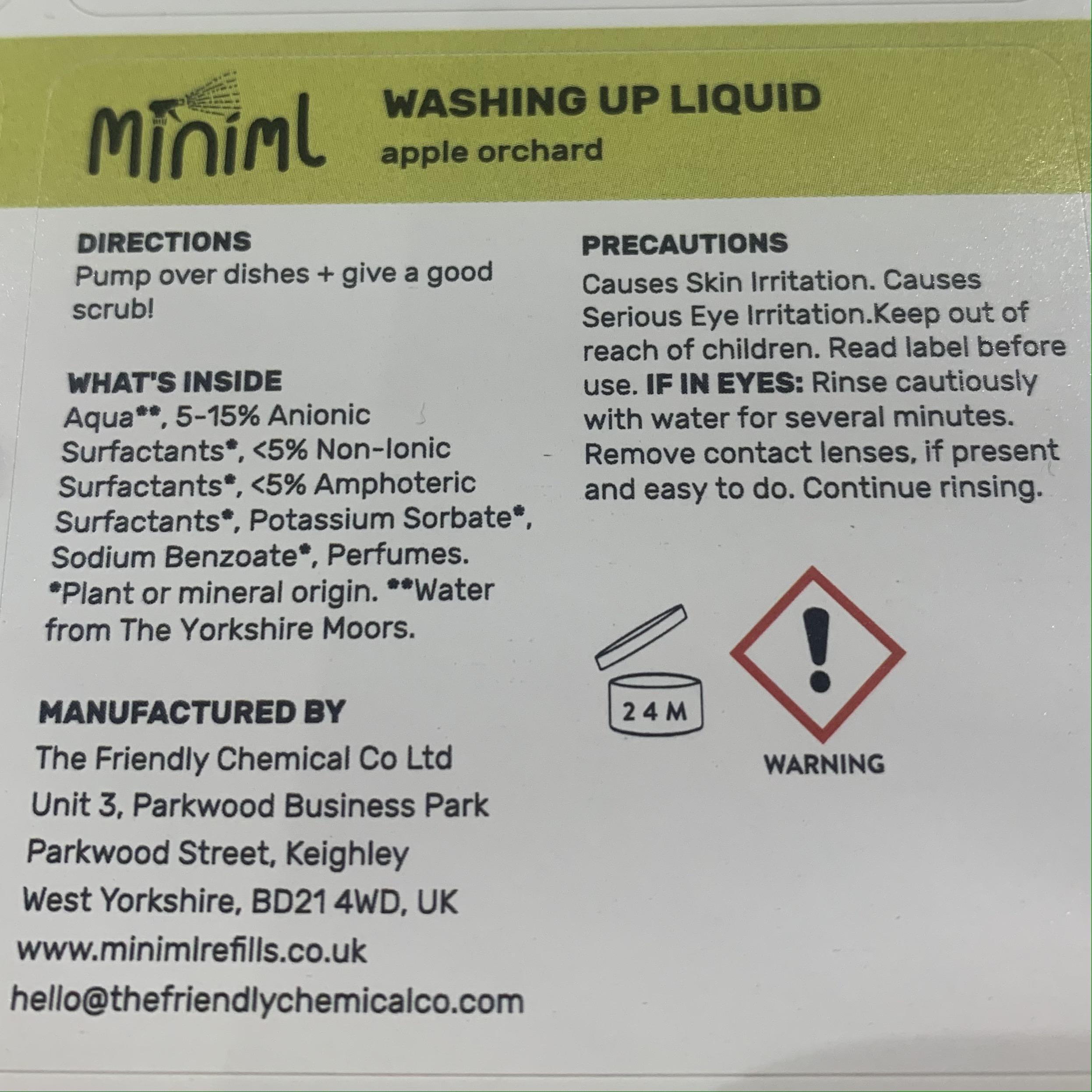 Pre-Filled Liquids from Miniml Refills