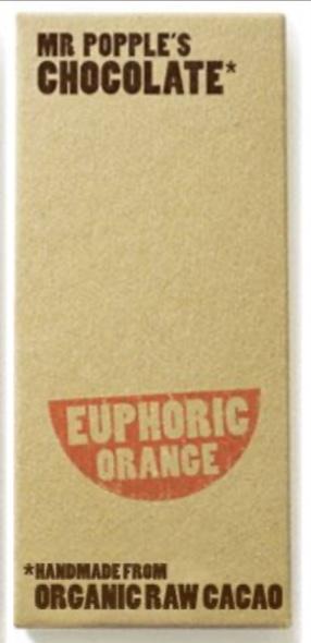 Organic Mr Popples Chocolate Bars (50g)
