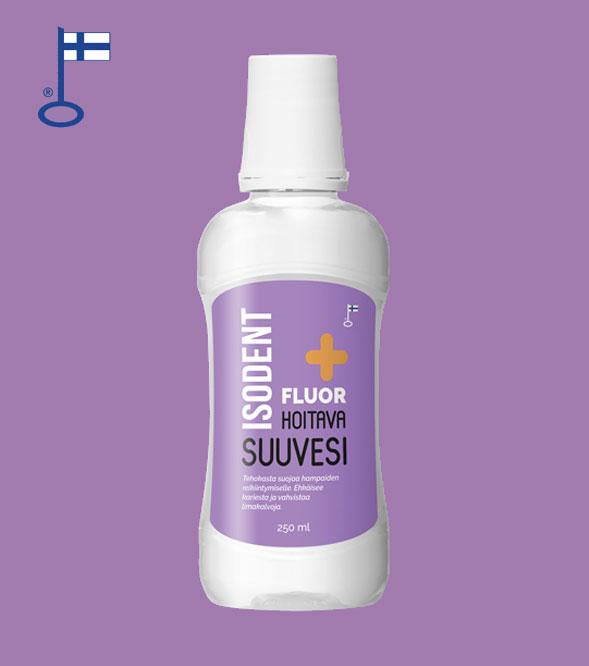 IsoDent Fluor+ hoitava suuvesi
