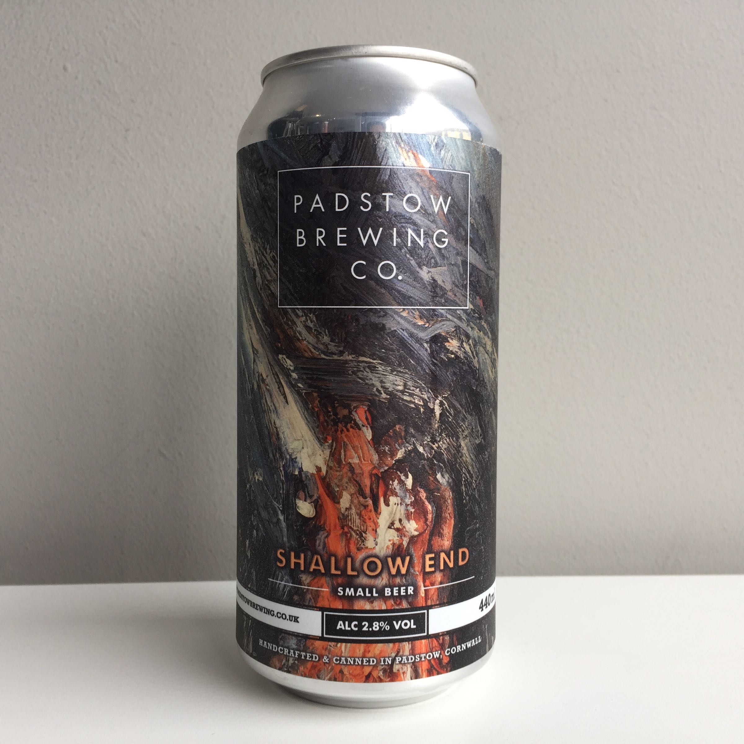 Padstow Brewing Co. 'Shallow End' Small Beer 440ml 2.8% ABV