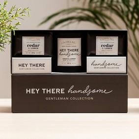 "Castelbel Gift set ""Hey There Handsome"" tvål & doftljus"