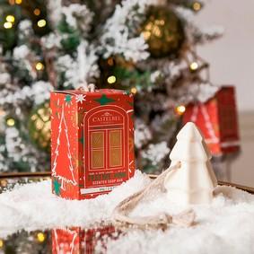 Castelbel Giftbox Tvål Happiest Xmas Tree