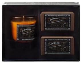 Castelbel Gift set Brown Tvål & Doftljus