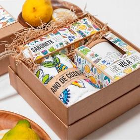 Castelbel Gift set Sardine Tvål, Ljus & Handduk
