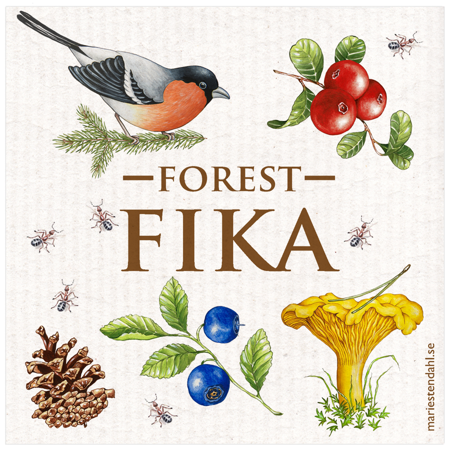 Disktrasa Forest fika