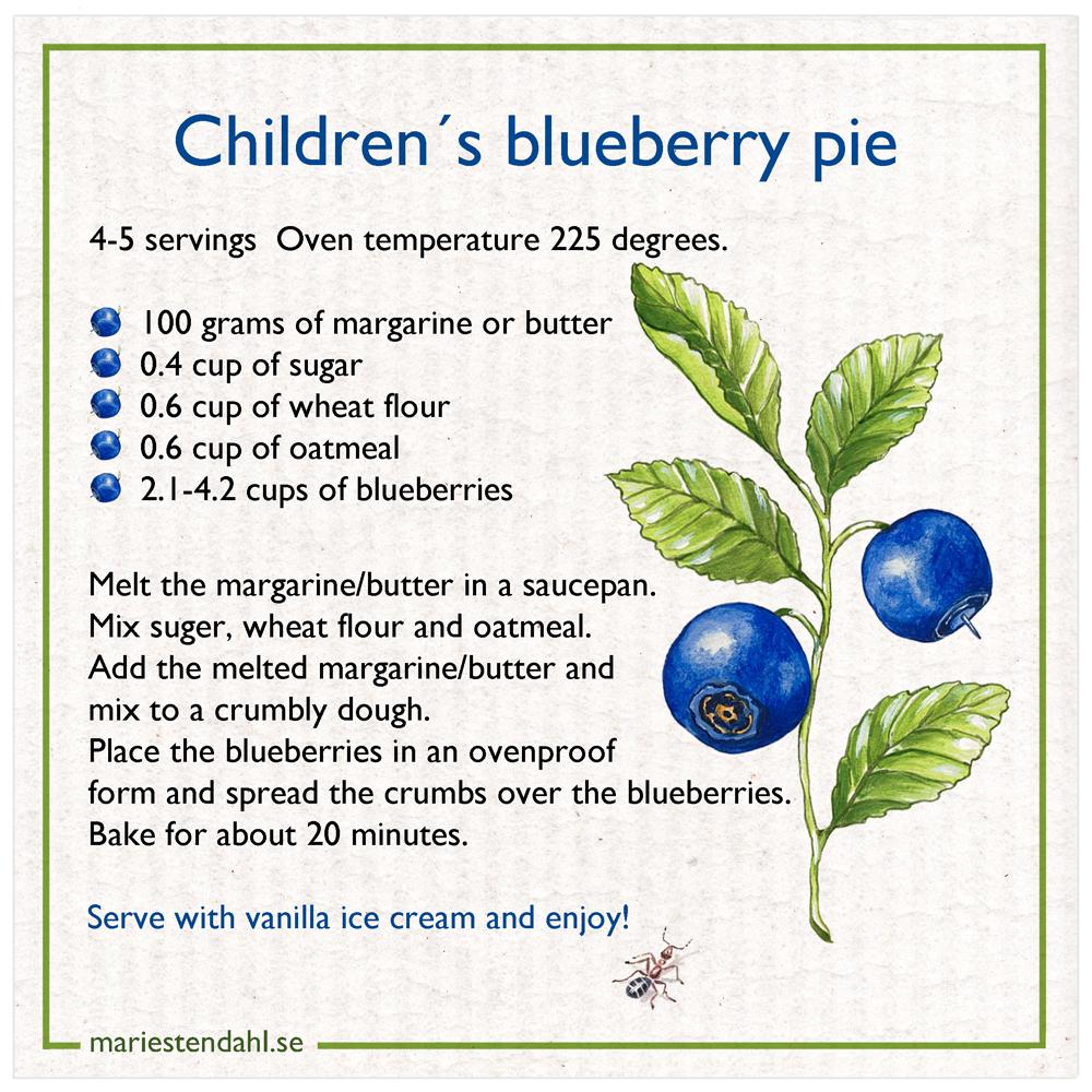 Disktrasa Bluberry Pie