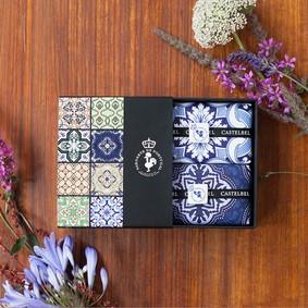 Castelbel Gift set Tile Lavendel & Rabarber