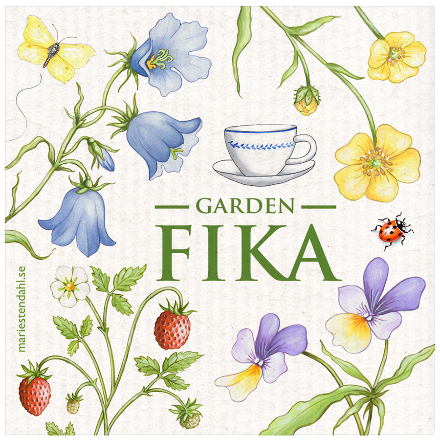Disktrasa Garden fika