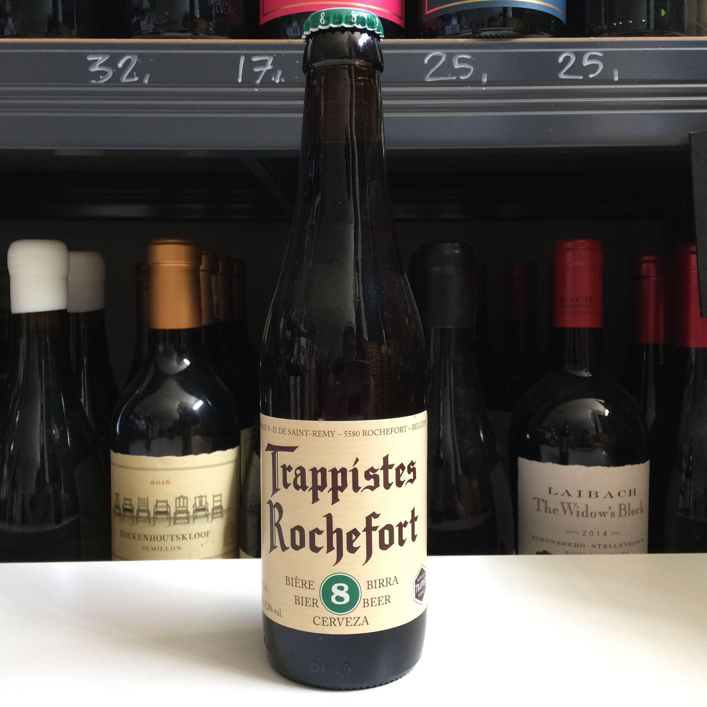 Rochefort 8 Belgium Beer 33cl 9.2% ABV