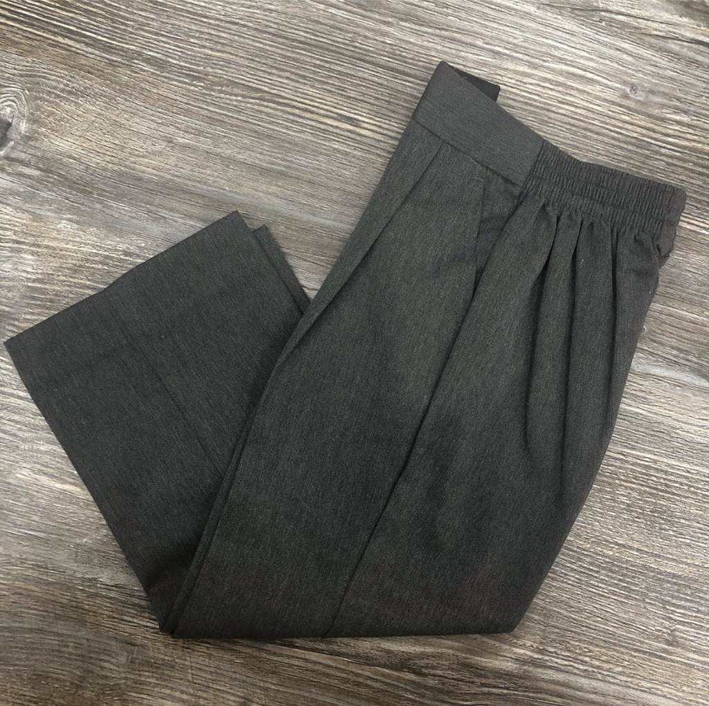 Grey Junior Boys Trousers