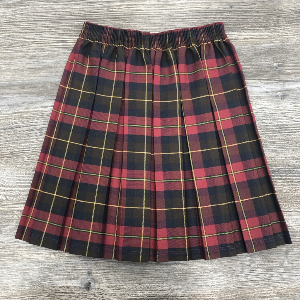Grindleton Tartan Box Pleat Skirt