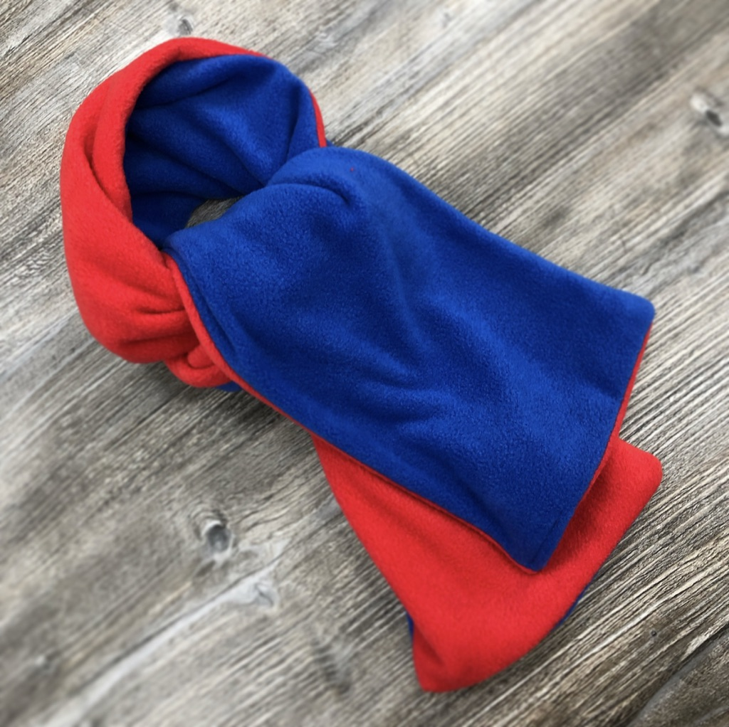 QEGS Fleece Scarf