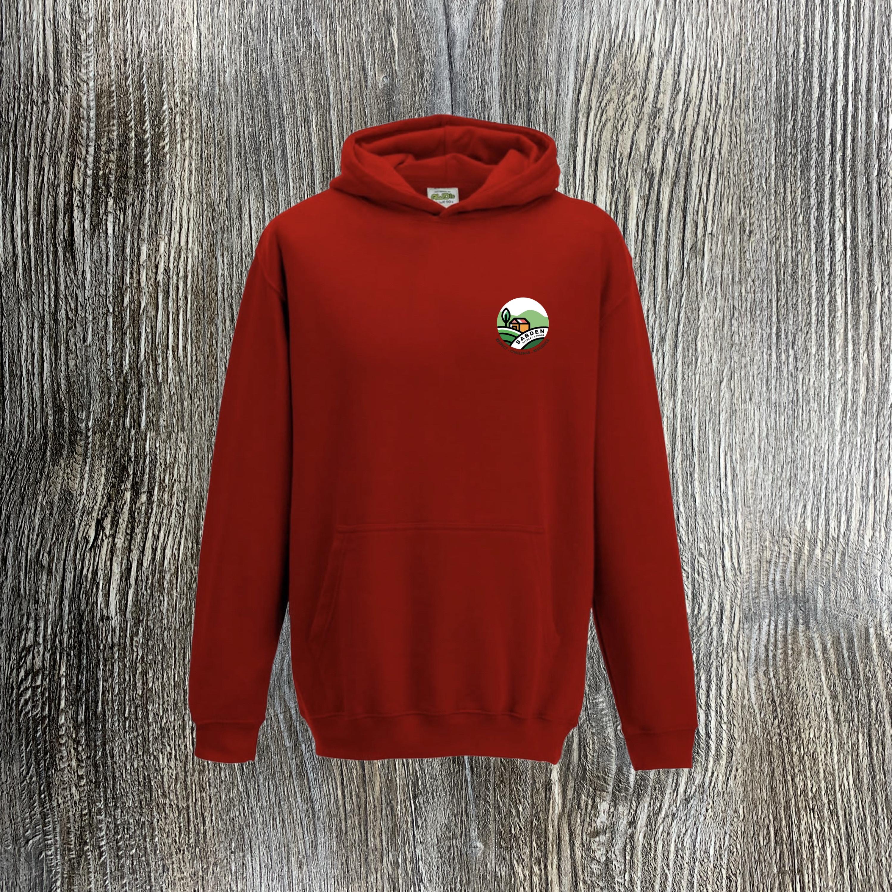 Sabden Y1-Y5 Red Hoody