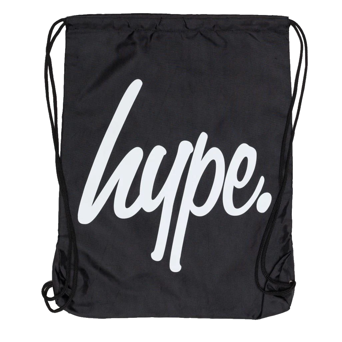 Hype - Black Draw String Bag
