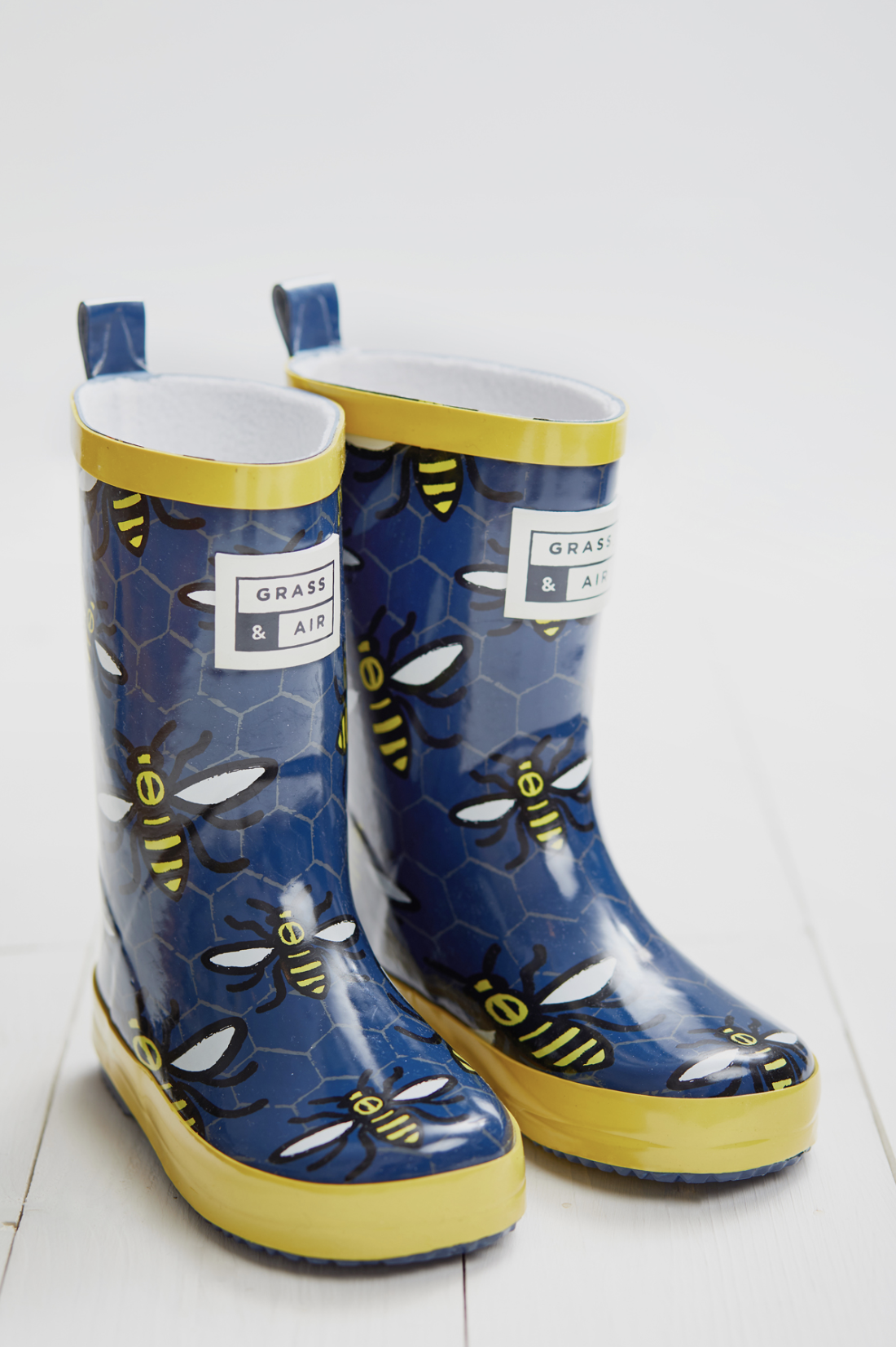 Worker Bee Wellies | Grass & Air