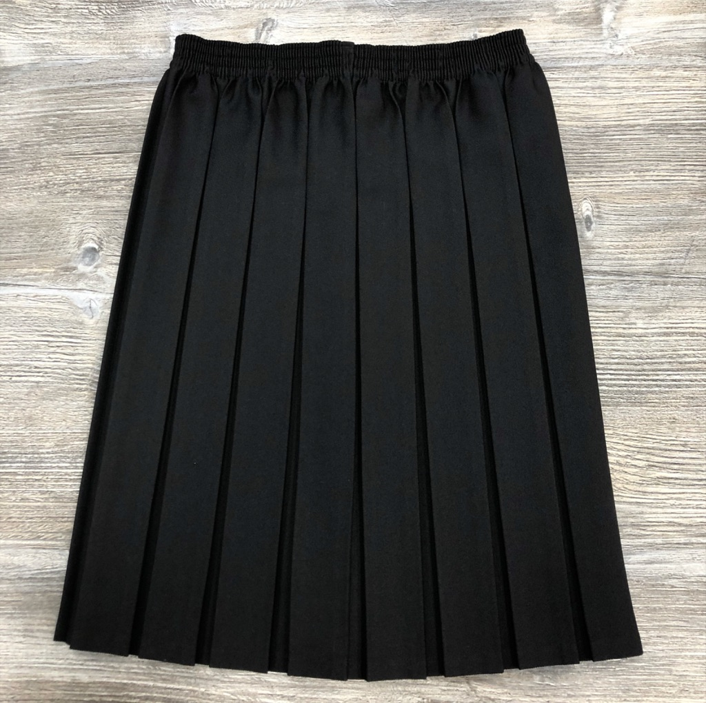 Black Box Pleat Elas Waist Skirt