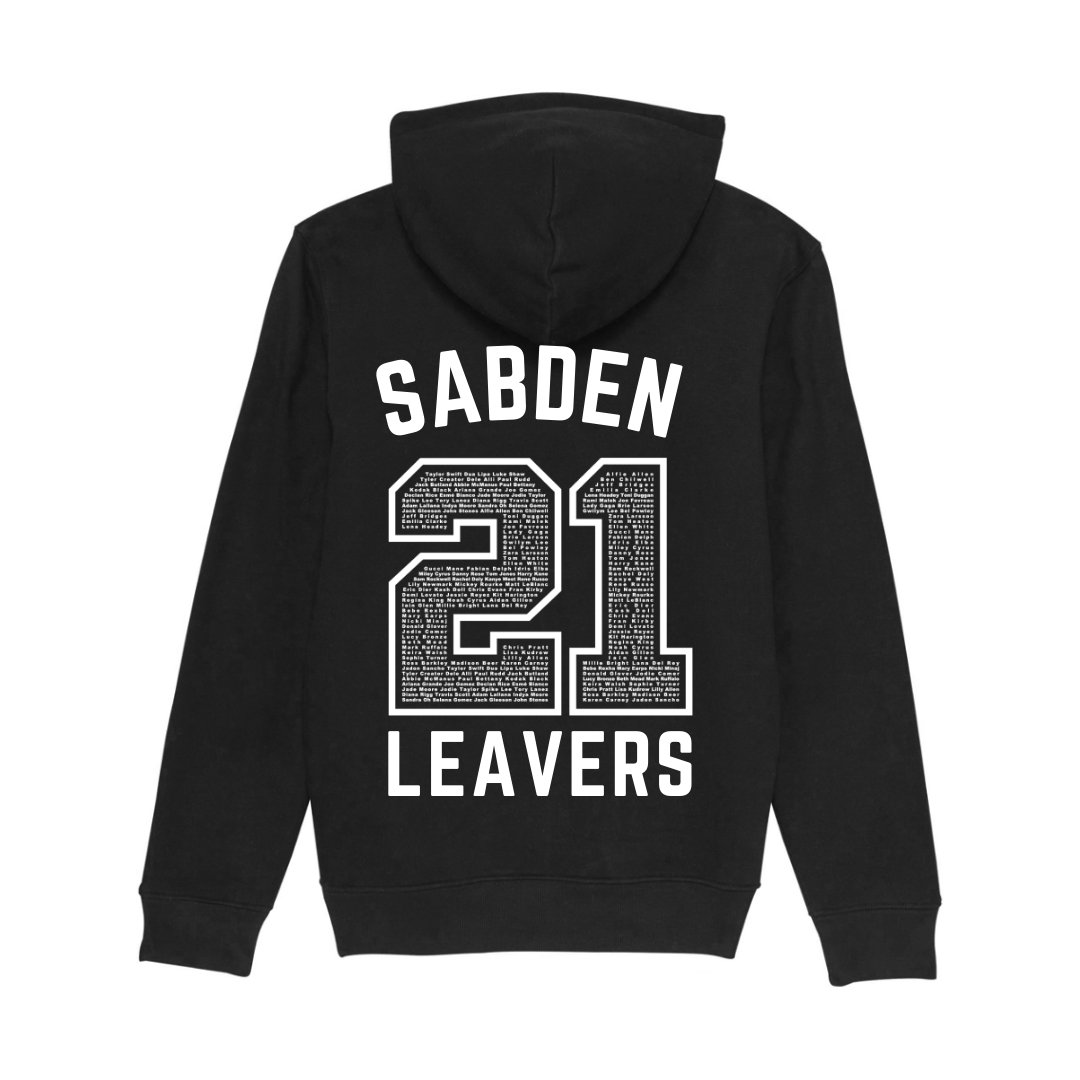 Sabden Primary 2021 Leaver's Hoodies