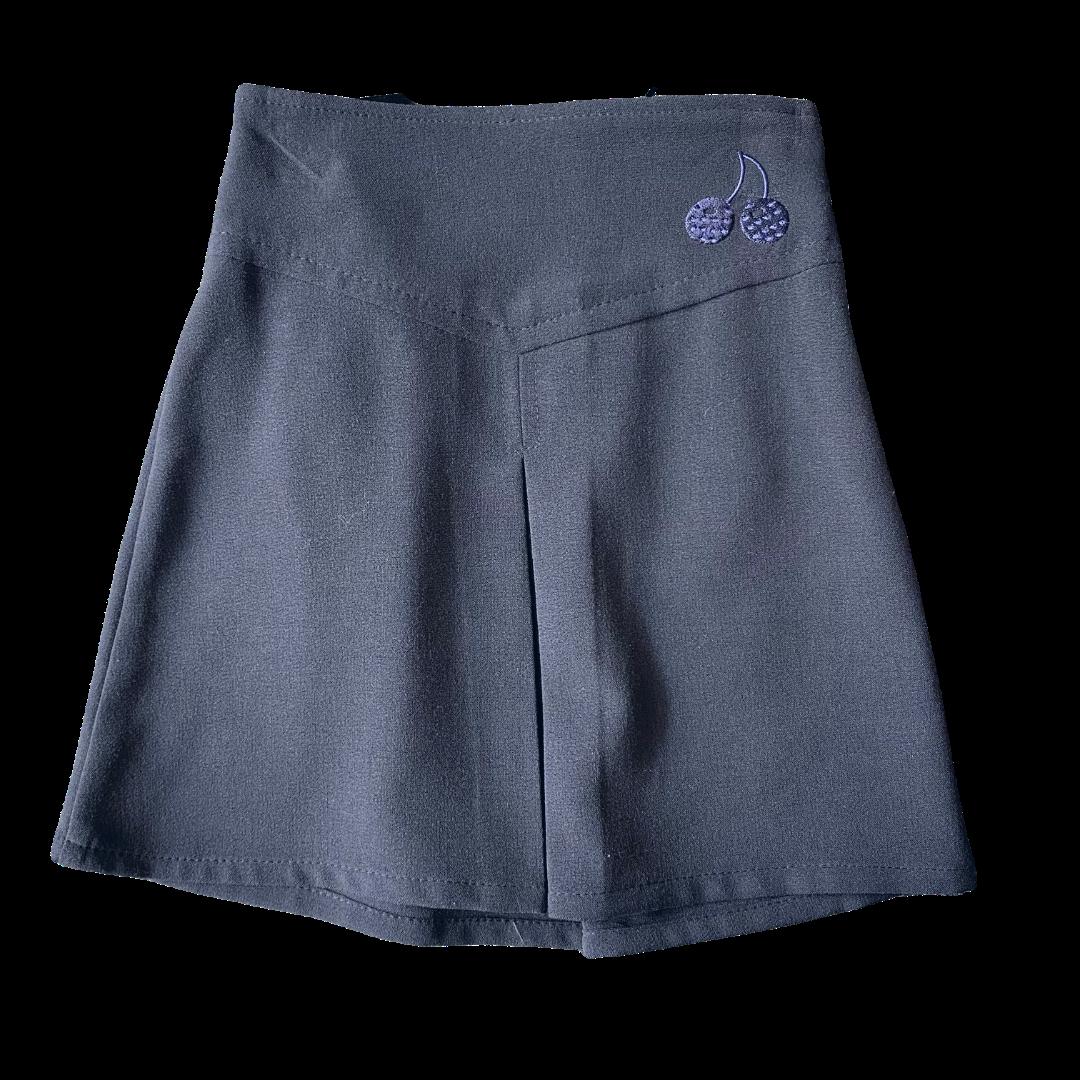 Navy Trutex Cherry Skirts