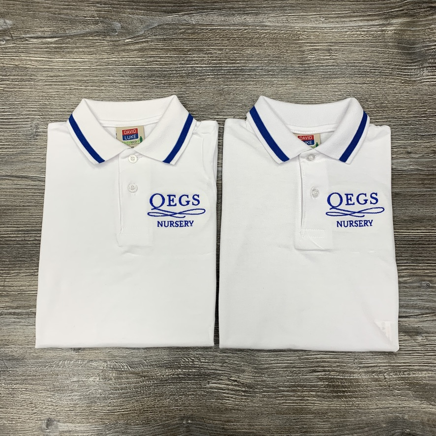 QEGS Nursery Polos  - 2 for £16