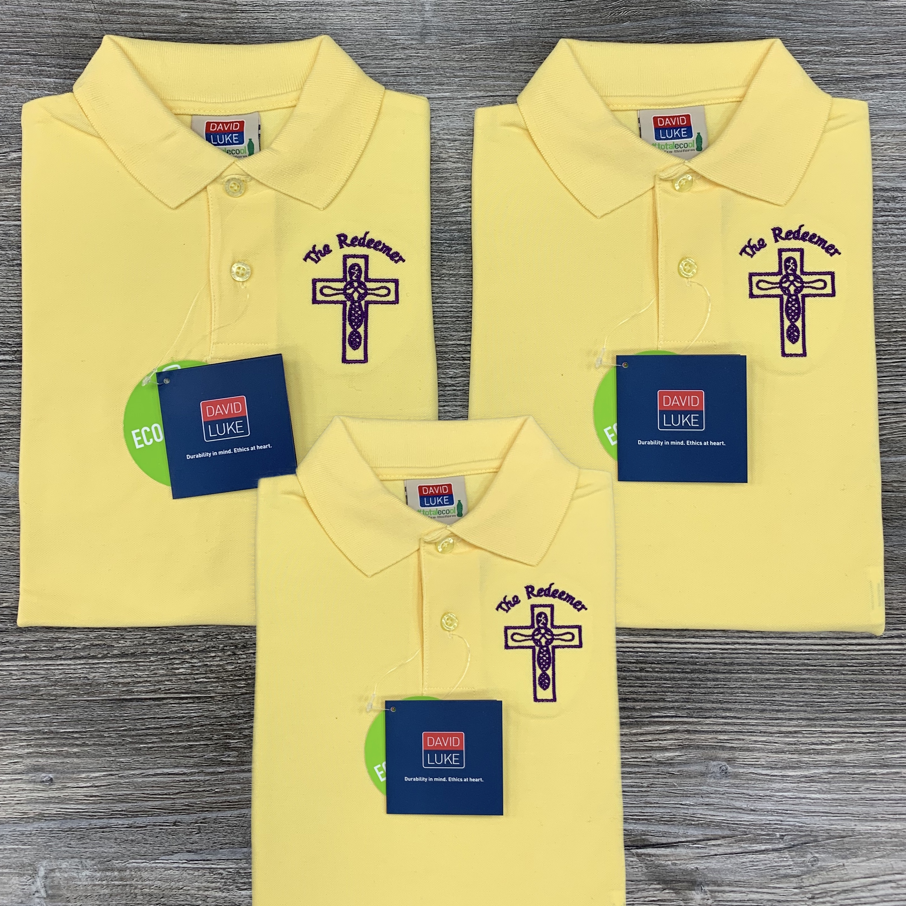 3x Redeemer Badged Polos