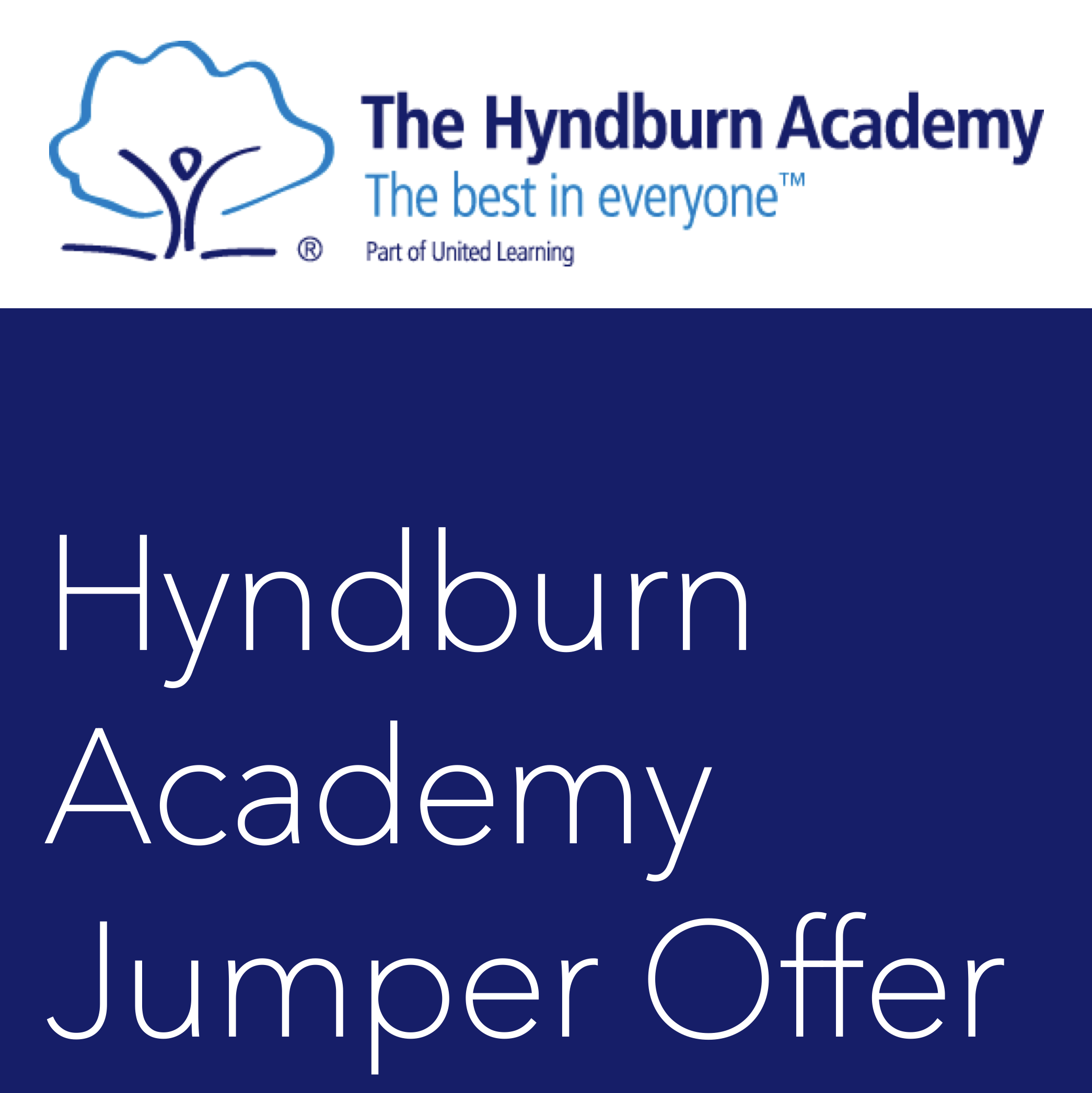 Hyndburn Academy Jumper Offer