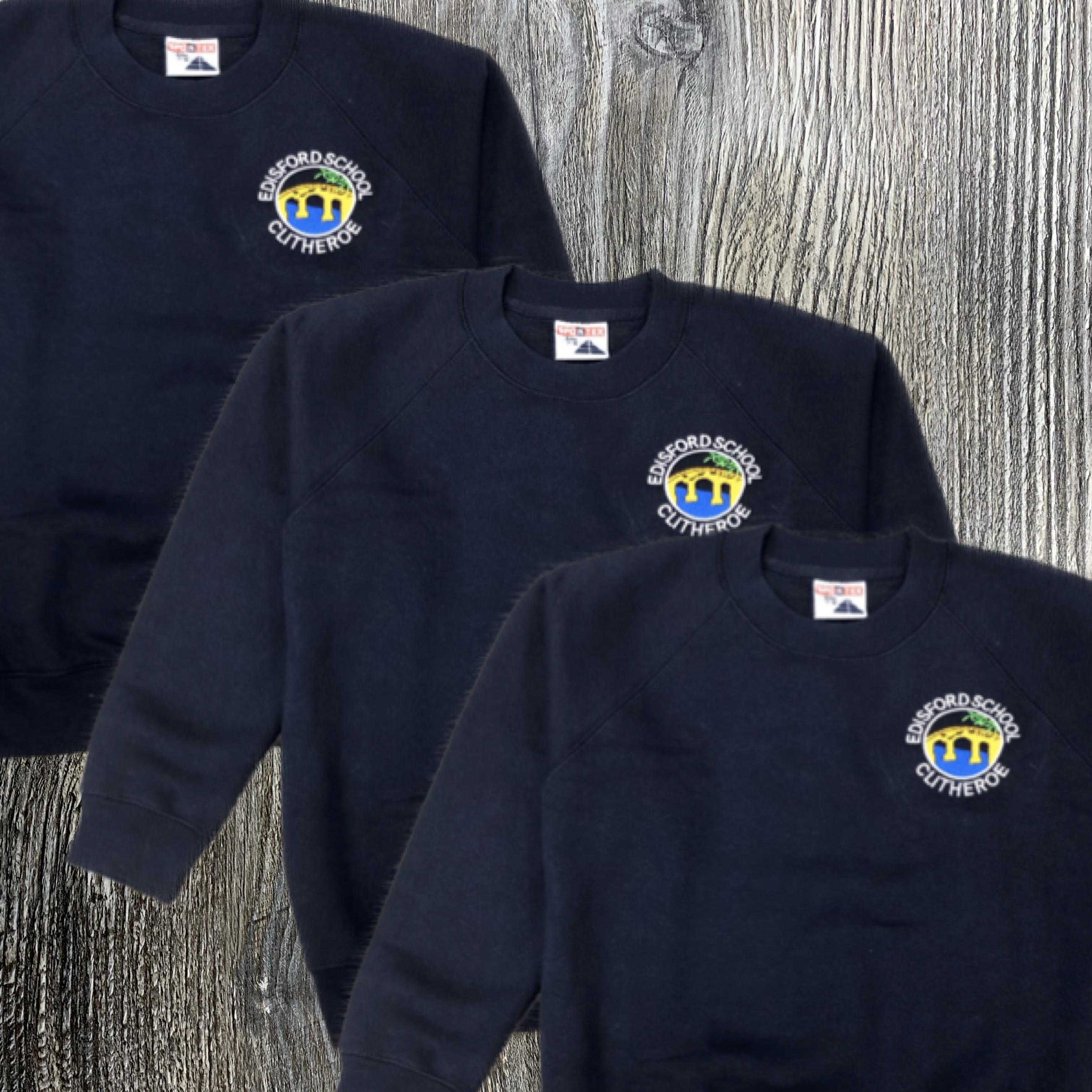 3 x Edisford Sweatshirts