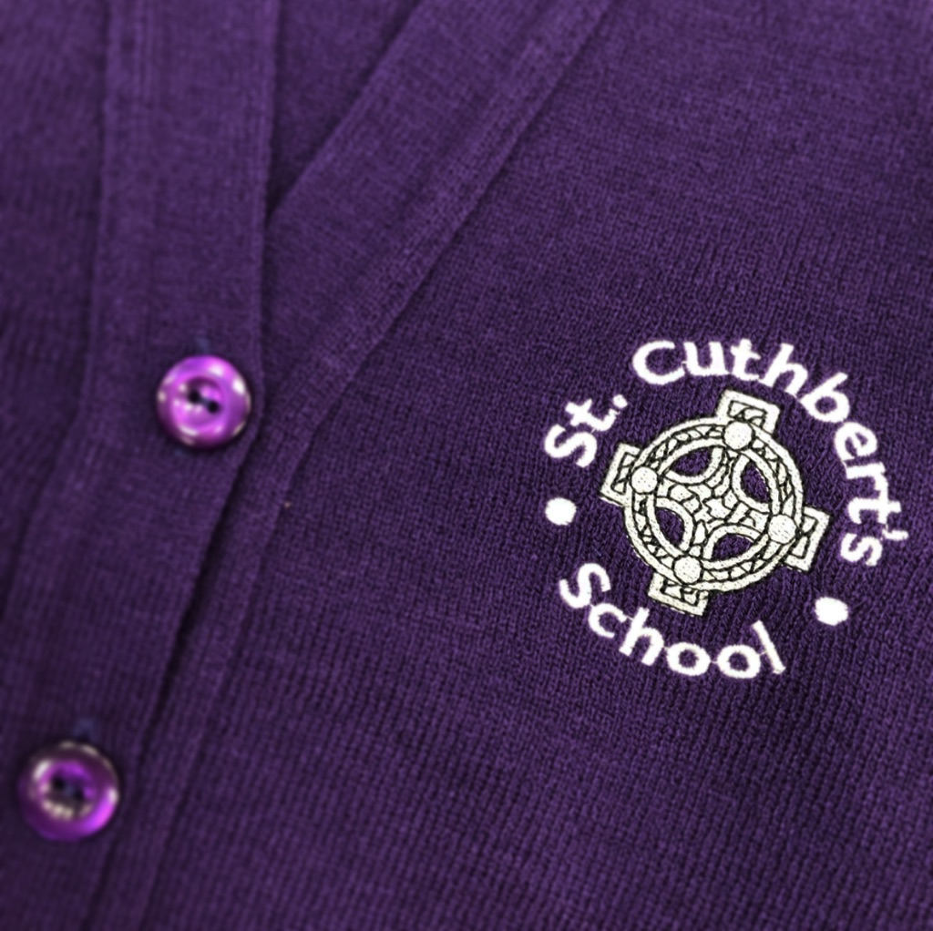 St. Cuthberts Badged Cardigan