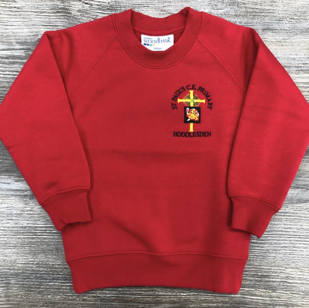 St Paul's Hoddlesden Sweatshirt