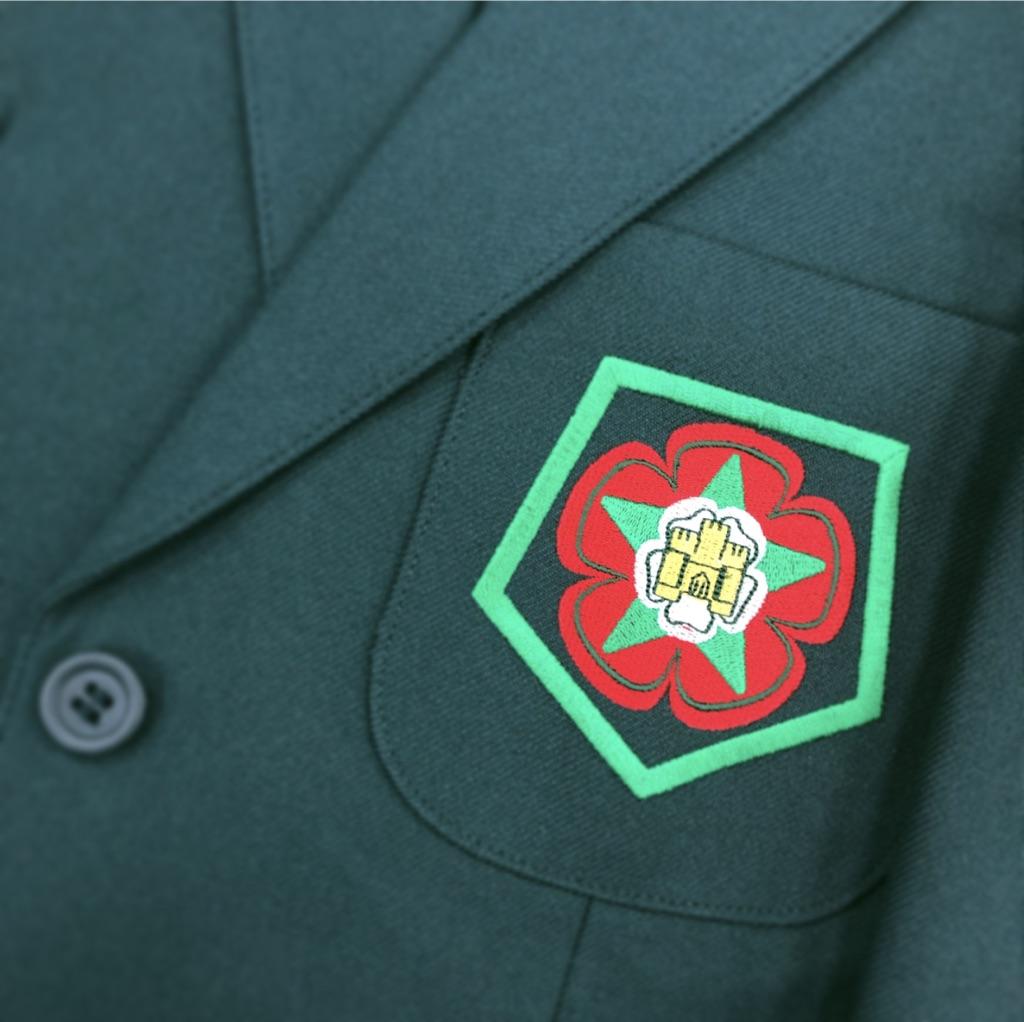 Ribblesdale Girls Green Blazer