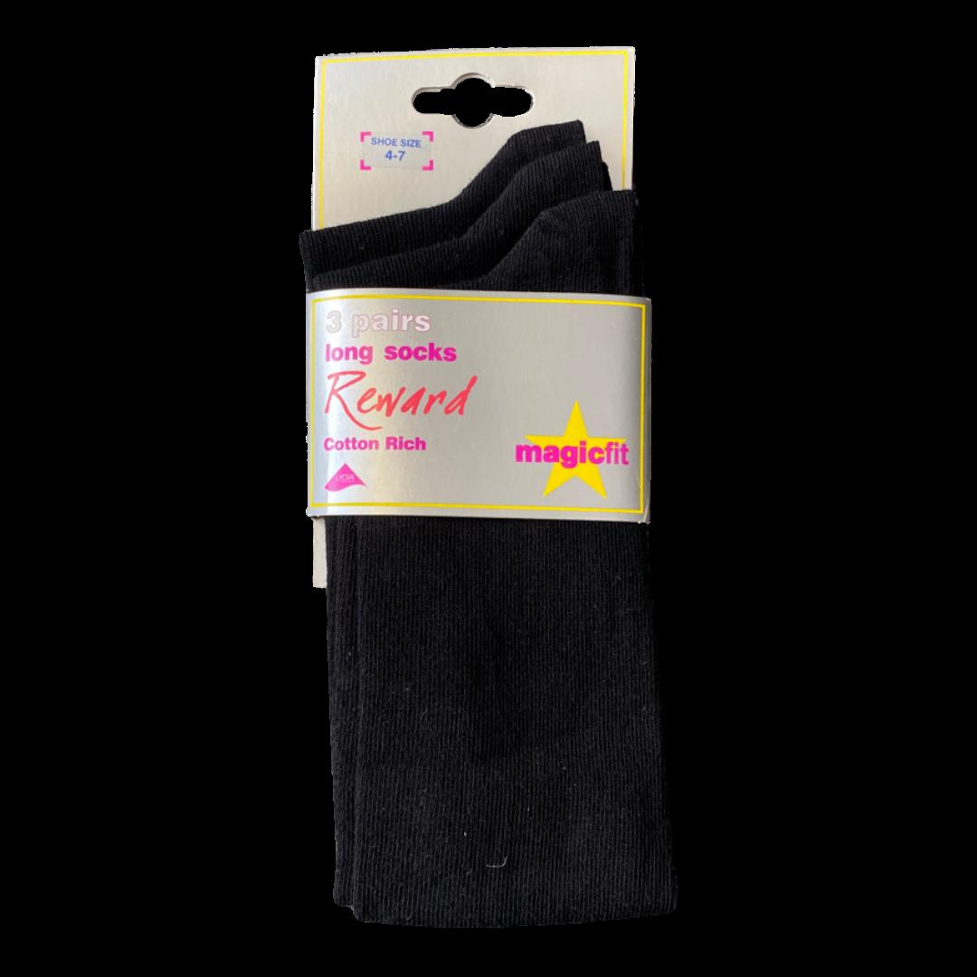 Black Long Socks