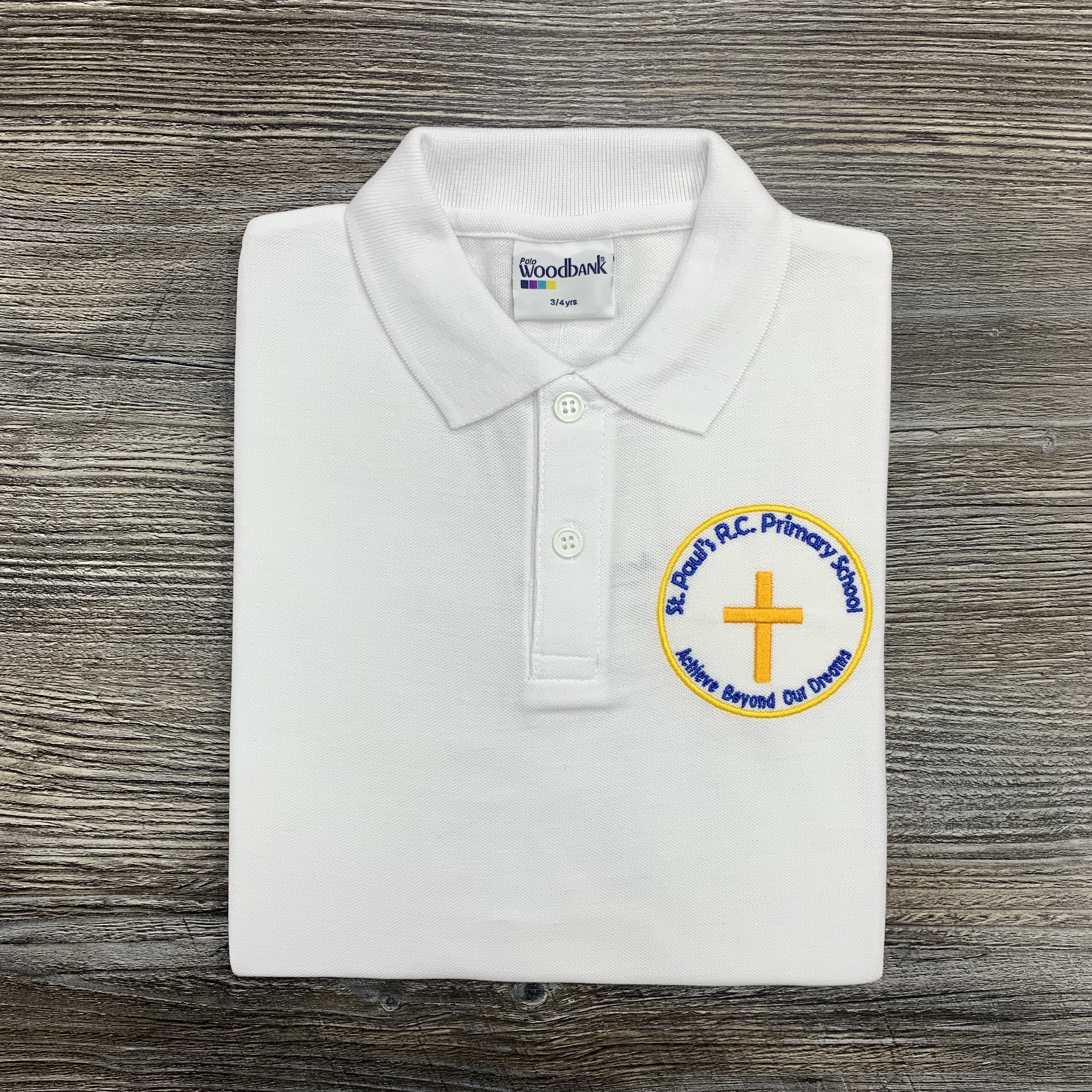 St Pauls Feniscowles White Polo