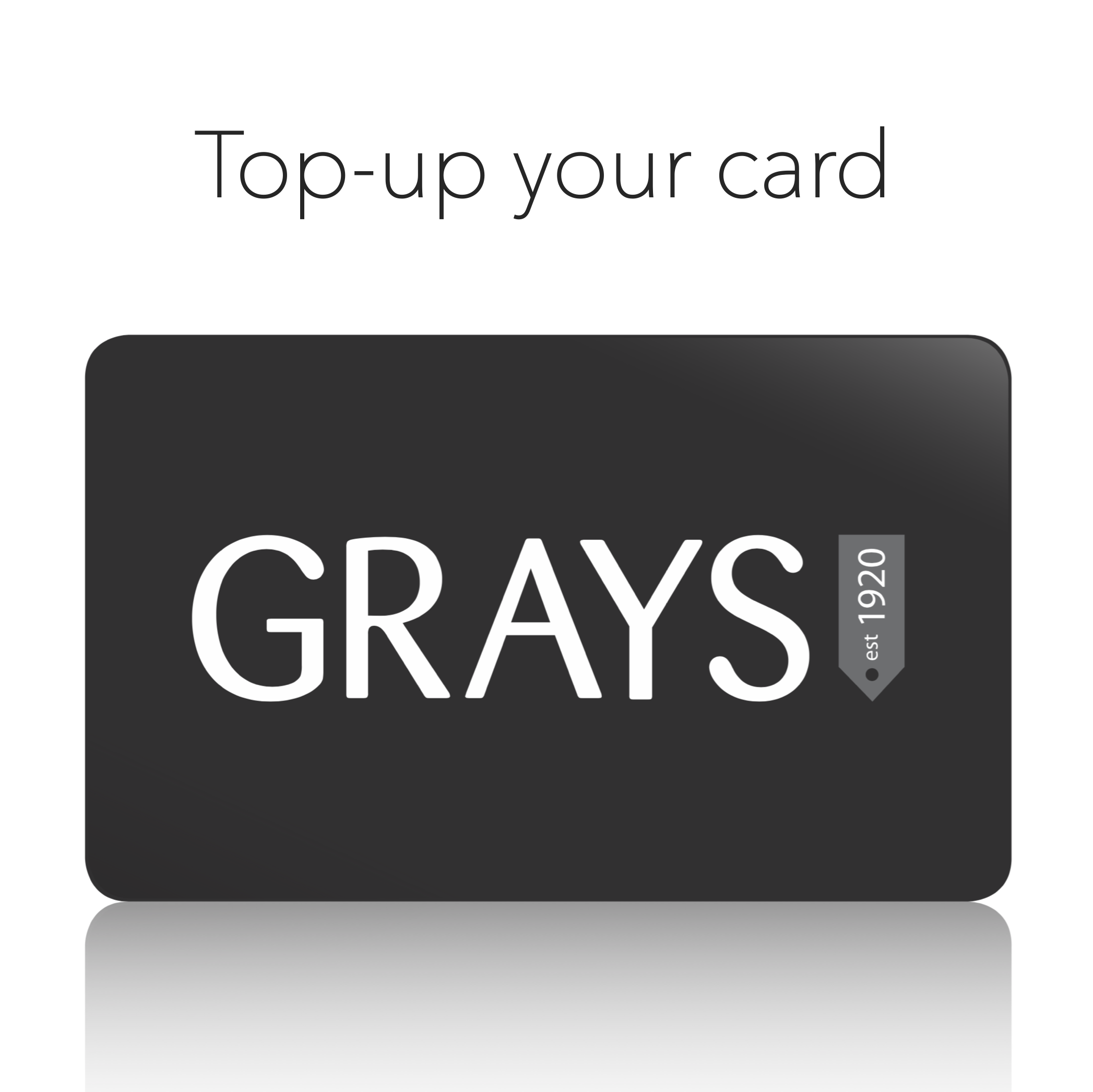 Savings Card top-up