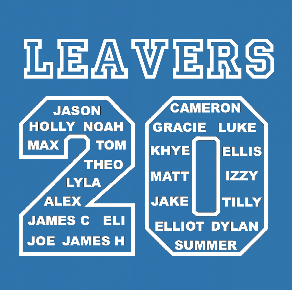 OFFICIAL - St James' 2020 Leavers Hoodie