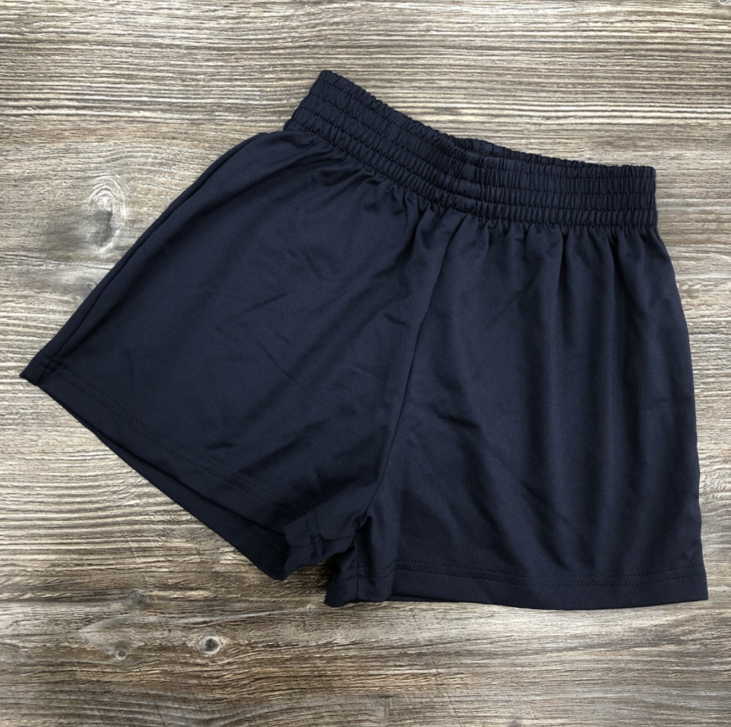 Navy Girls PE Shorts