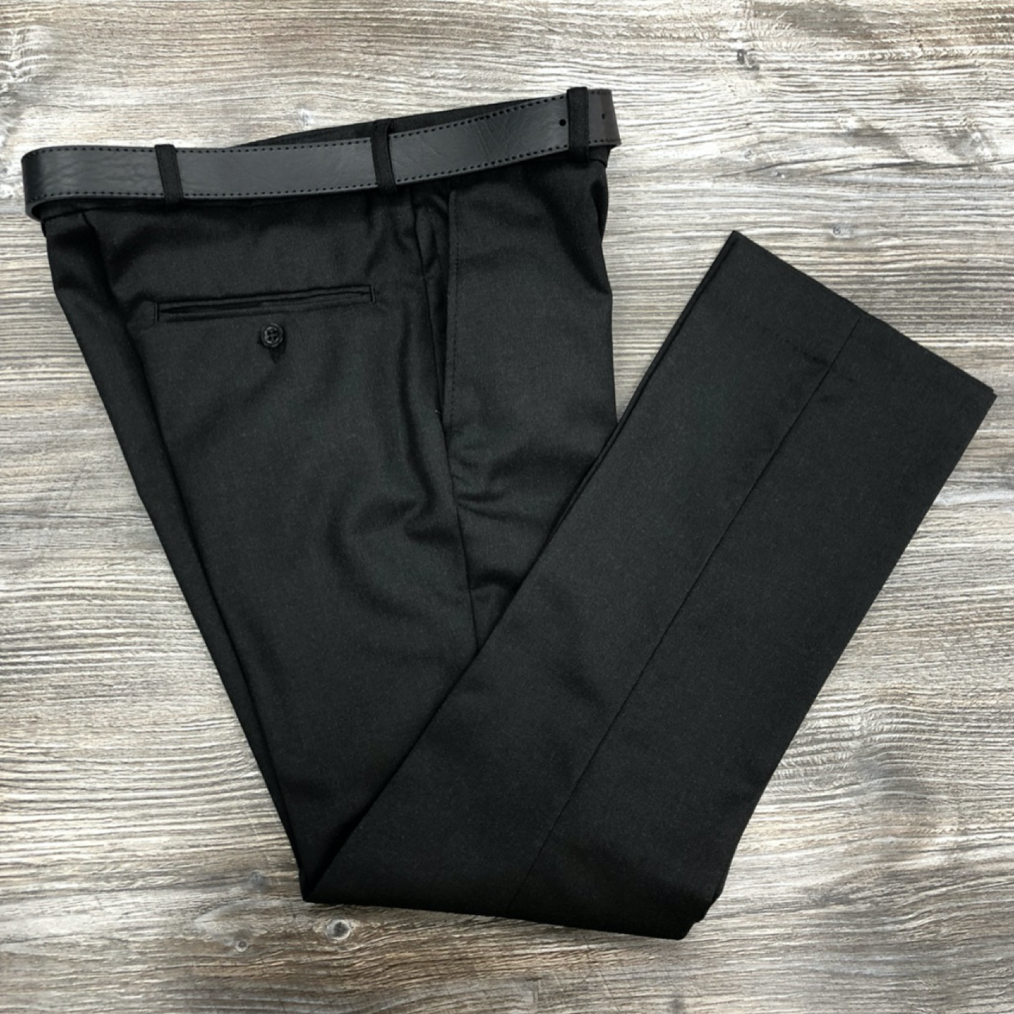 David Luke Charcoal Senior Trousers