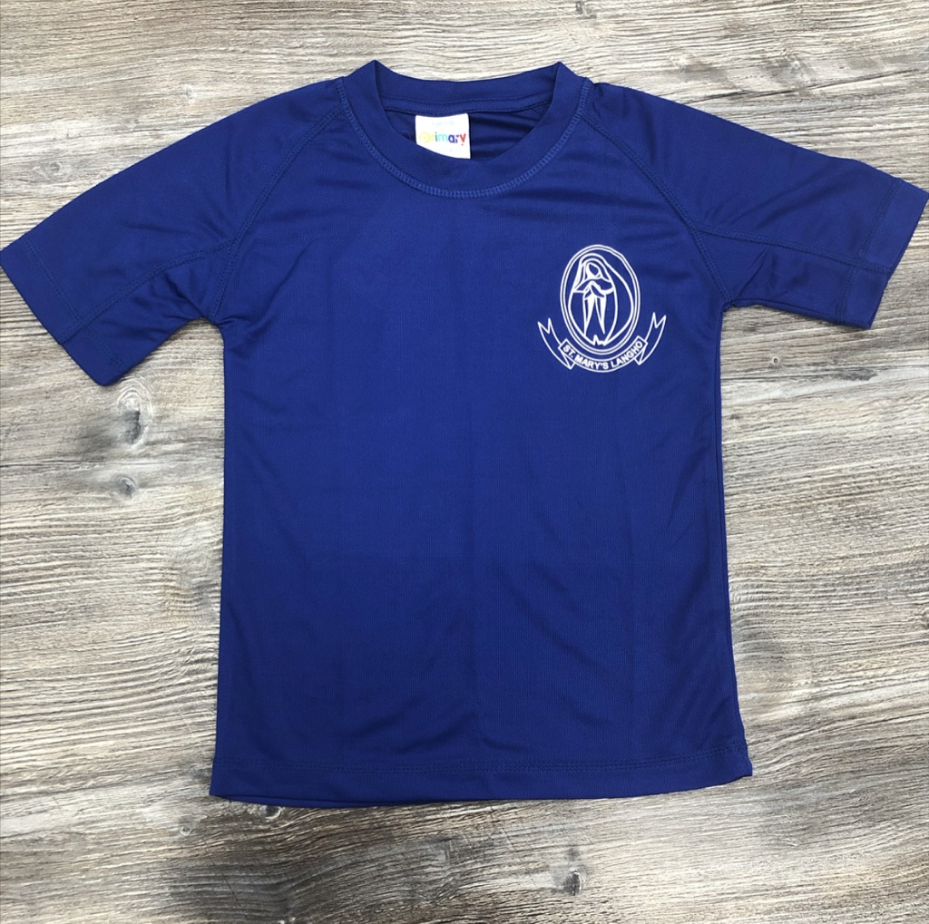 St Marys Langho Royal PE T-shirt