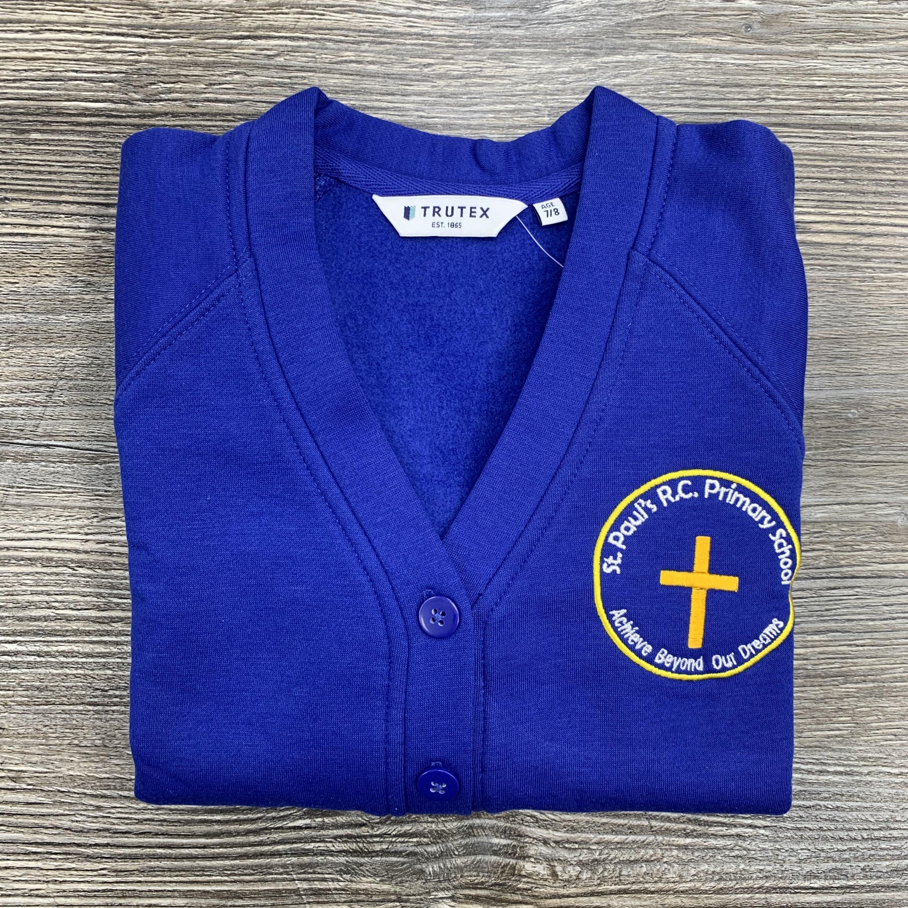 St Pauls Feniscowles Sweat Cardigan