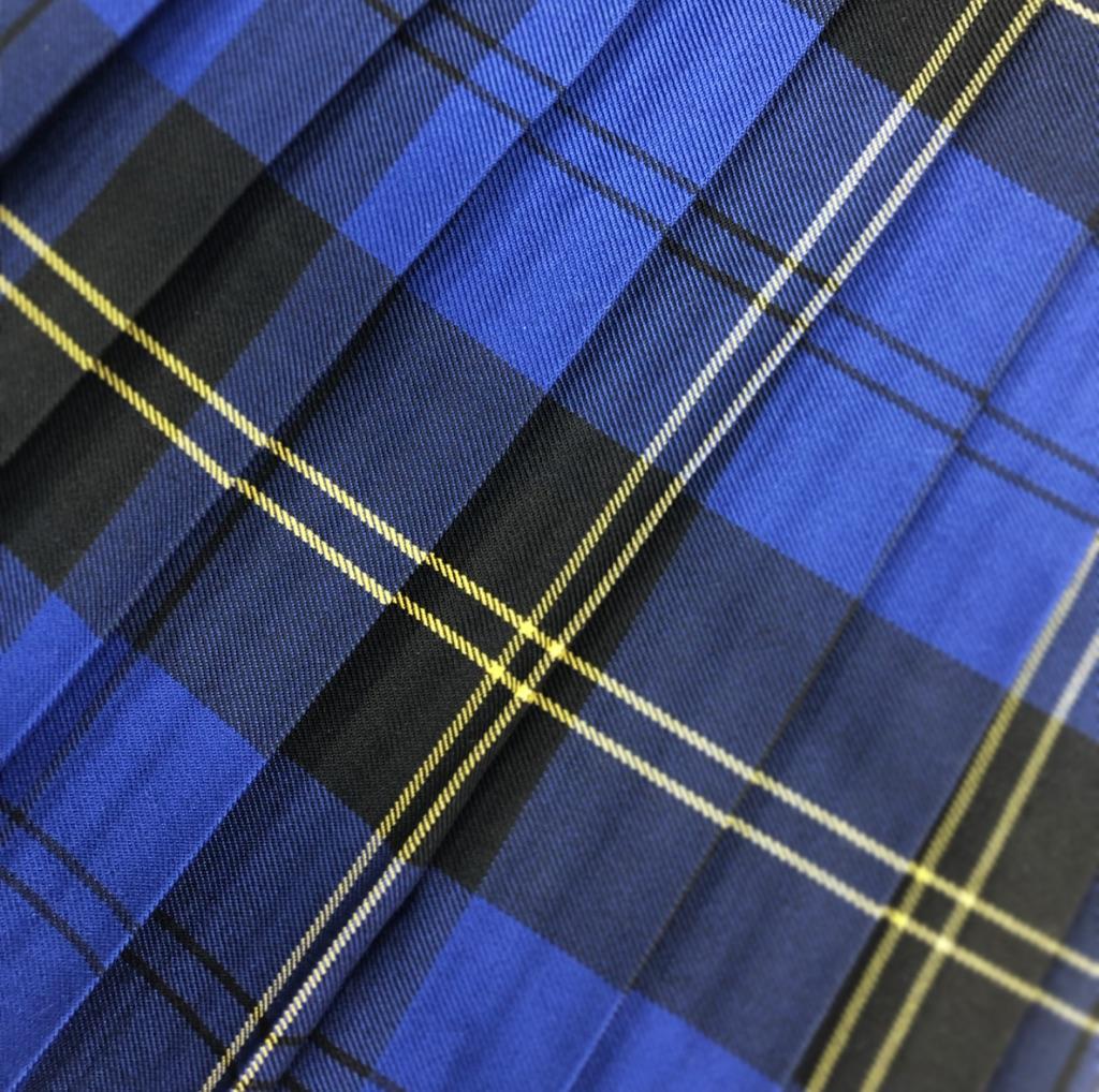 Skye Royal Blue Tartan Skirt