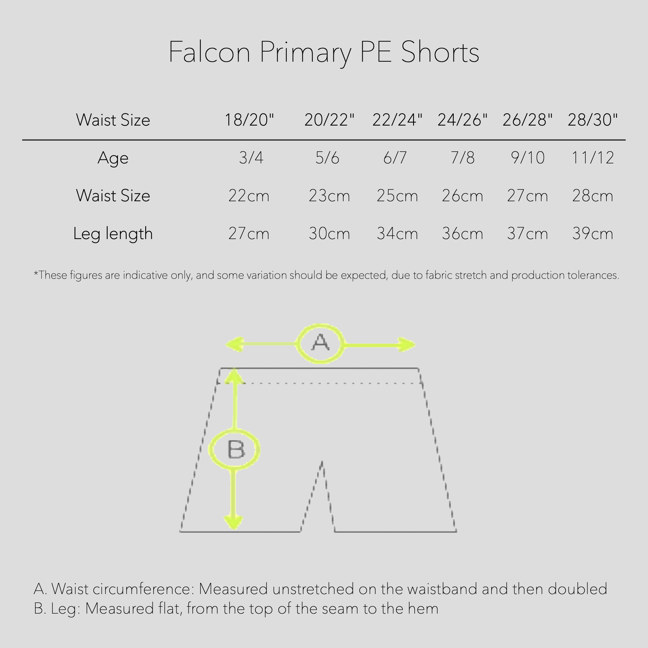Royal Falcon Primary PE Shorts