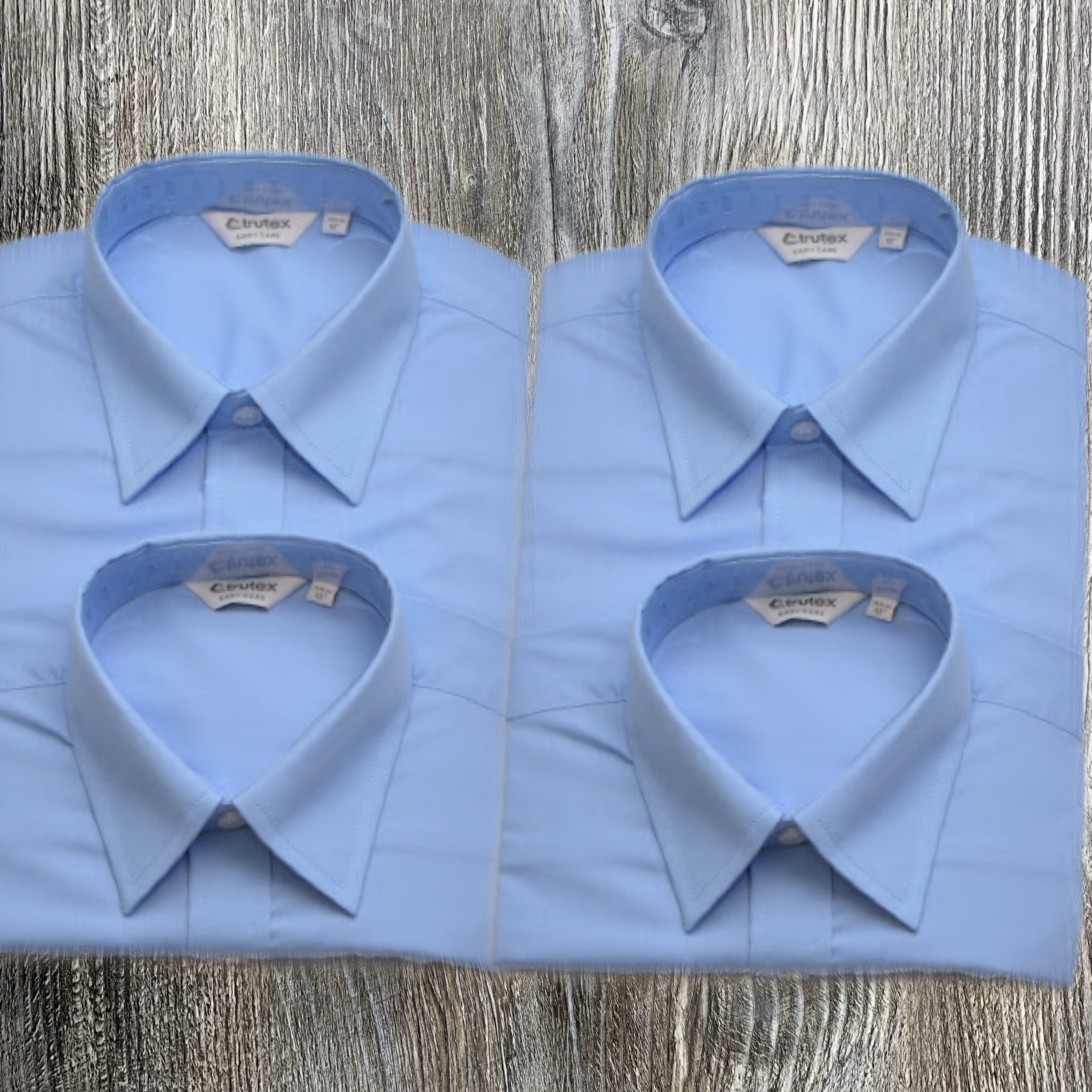 2 x Twin Pack Blue Blouse