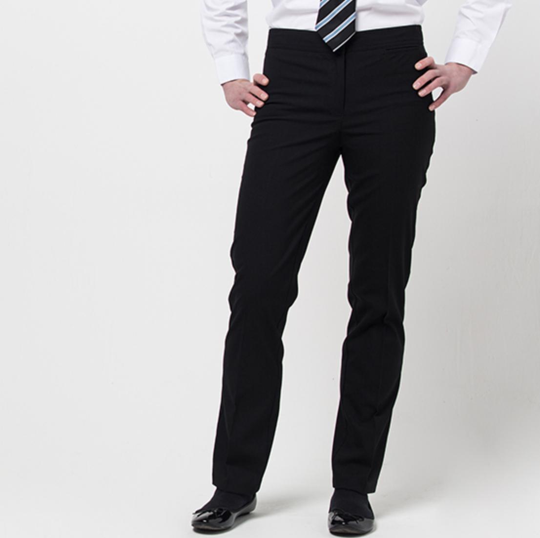 David Luke Girls' Black Trousers
