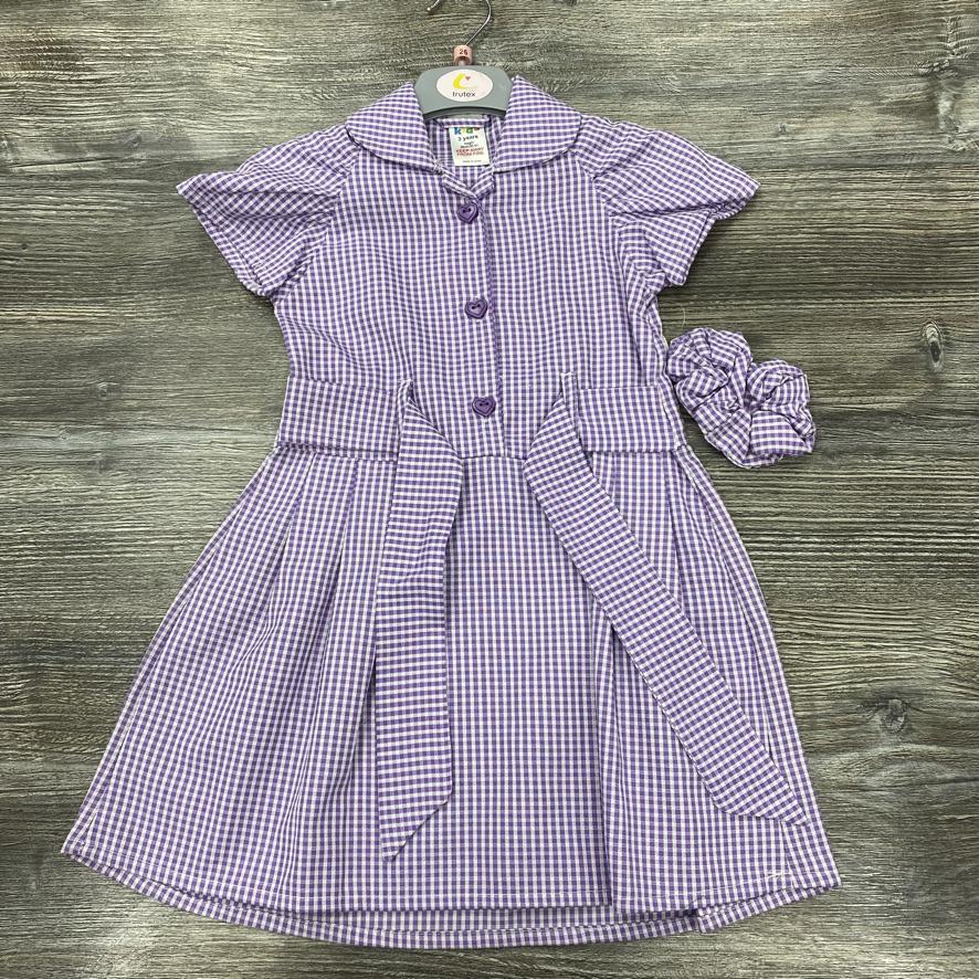 Purple Summer Dress - Trutex
