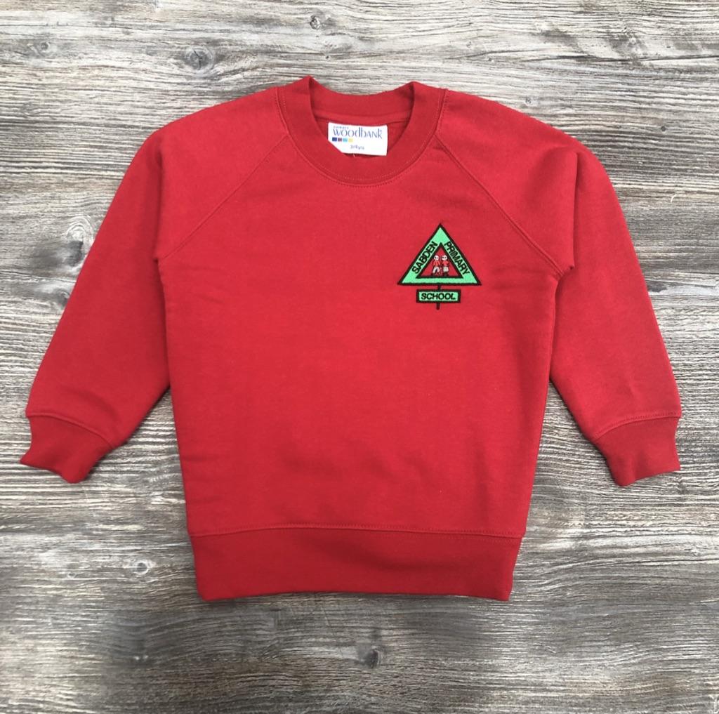 Sabden Red Sweatshirt