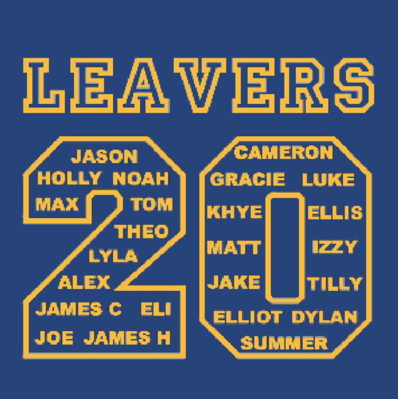 Brookside 2020 Leavers Hoodies