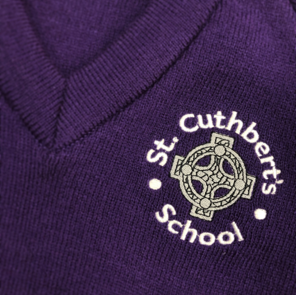 St. Cuthberts V-neck Pullover