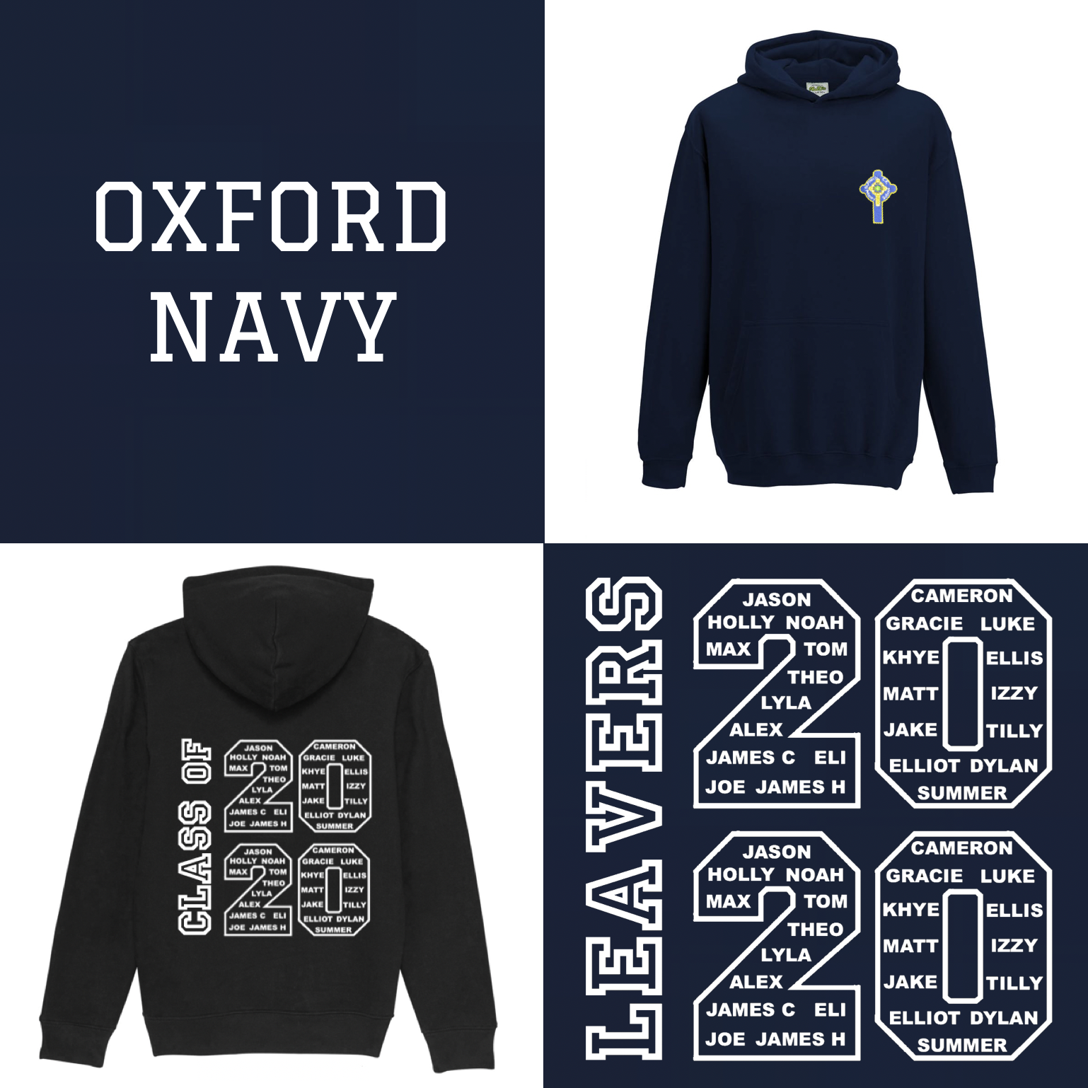 OFFICIAL - St Francis 2020 Leaver's Hoodies