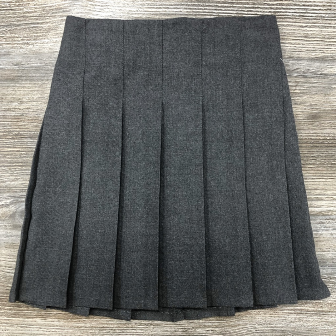 Grey Stitch Down Skirt (Waist Sizes)