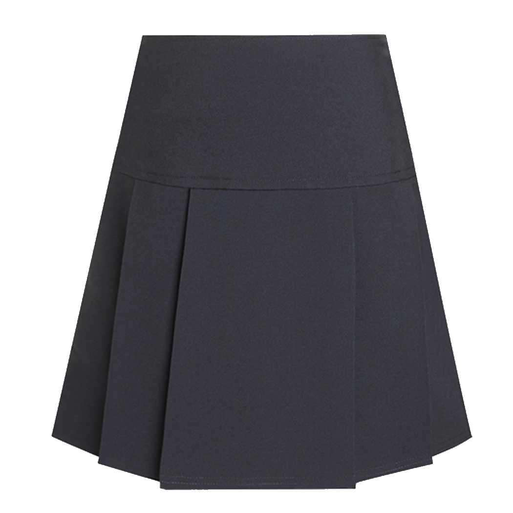 Junior Navy Drop Waist Skirt