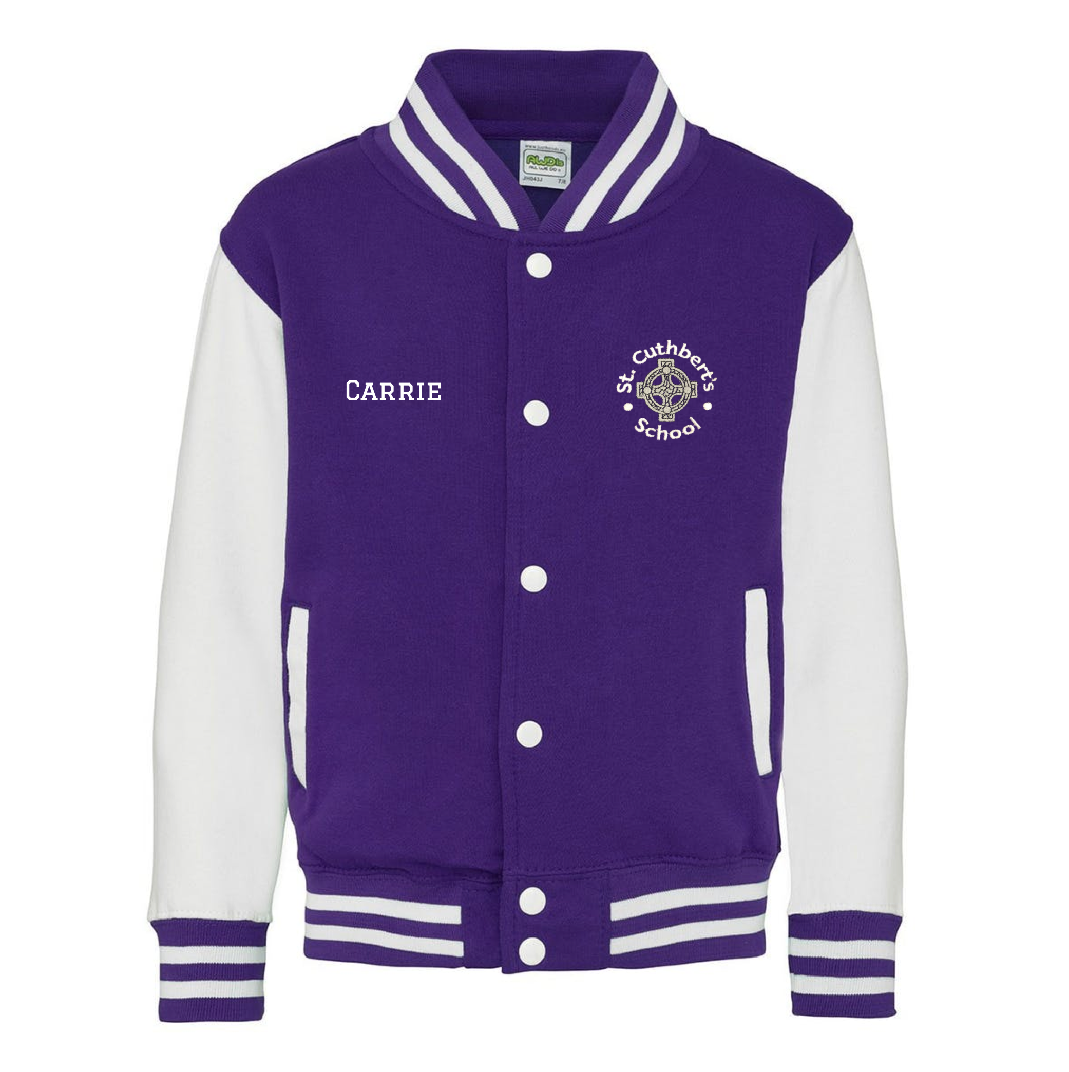 EXAMPLE St Cuthbert's Leavers Varsity Jacket
