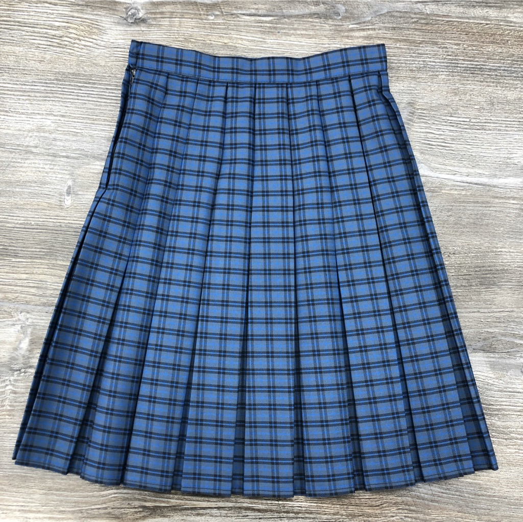 QEGS Fitted Box Pleat Skirt